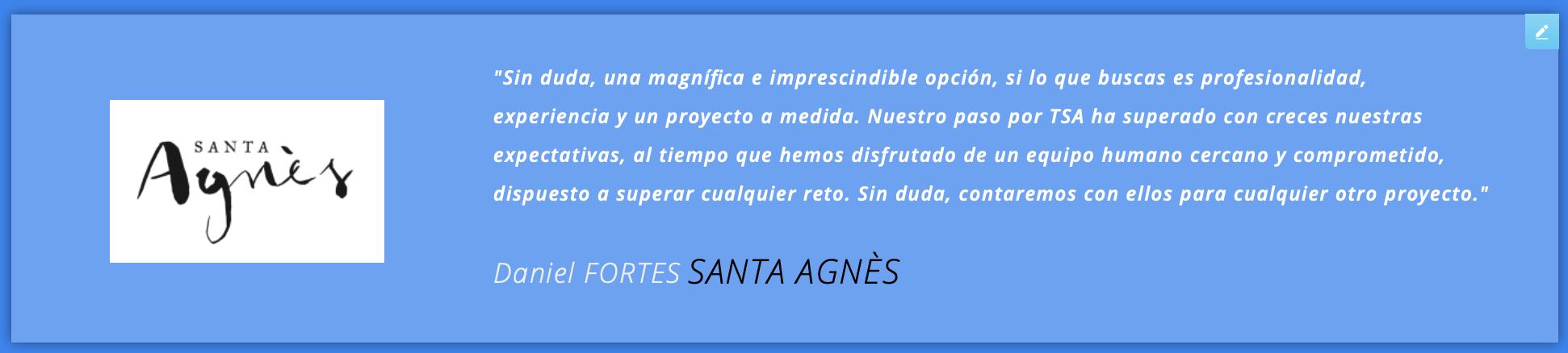 santa agnes